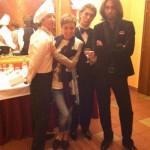 На гастролях с Поющими Официантами Show, нас знают не только в Москве